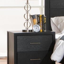 Grove Black Nightstand