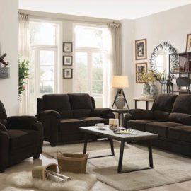 Northend Brown Sofa Set