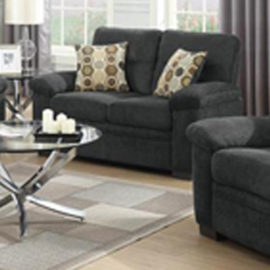 Fairbairn loveseat Charcoal