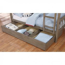 Emilie Brushed Grey Trundle
