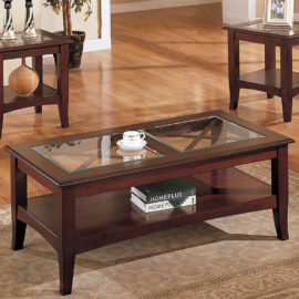 Contemporary 3pc coffee table