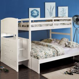 Appenzell Bunk bed t/f White