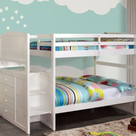 Appenzell Bunk bed t/t White