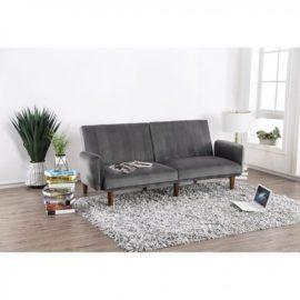 Grey Futon Sleeper sofa