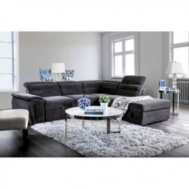 Felicity Sleeper Grey Sectional