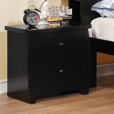 Marlee Black nightstand