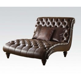 Anondale Lounge Brown Chaise