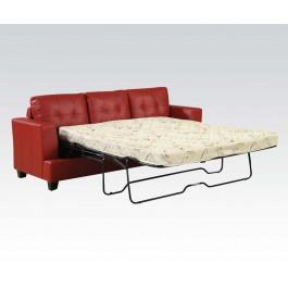 Sleeper Sofa red