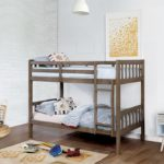 Emilie Brushed Grey Twin/Twin Bunk Bed
