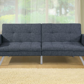 Adjustable Gray sofa sleeper