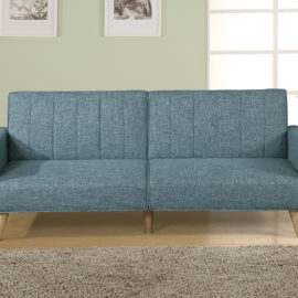 Adjustable Teal sofa sleeper