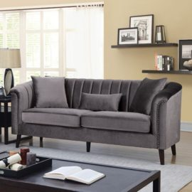 DAWN SHELL TUFT SOFA