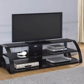 60″ TV Console Black