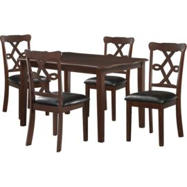 Ingeborg 5 Piece Dining Set