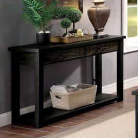 Rhymney Antique Black Coffee Table