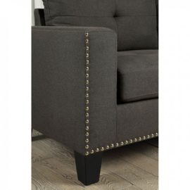 Attwell Grey Loveseat