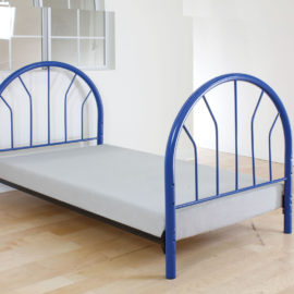 Silhouette twin bed in four colors