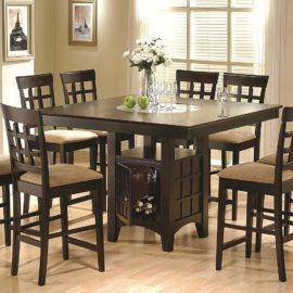 Cappuccino Counter-Height Table set