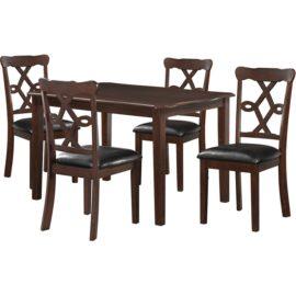 Ingeborg 5 Piece Dining Set