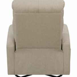 Swivel Glider Recliner Beige