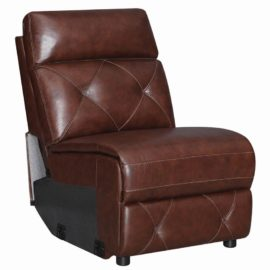 Chester 6-Piece Chocolate Armless Chair