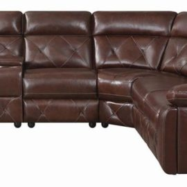 Chester 6-Piece Chocolate Power Sectional