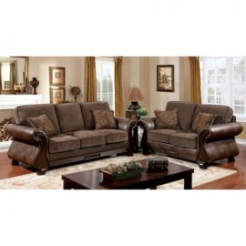 Thomasina Brown Loveseat