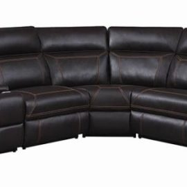 Albany 6-Piece Modular Power^2 Sectional Brown