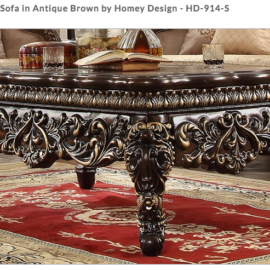 HD-914 Antique Brown Traditional Collection