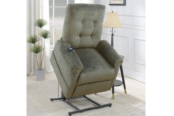 Chenille Power Lift Chair