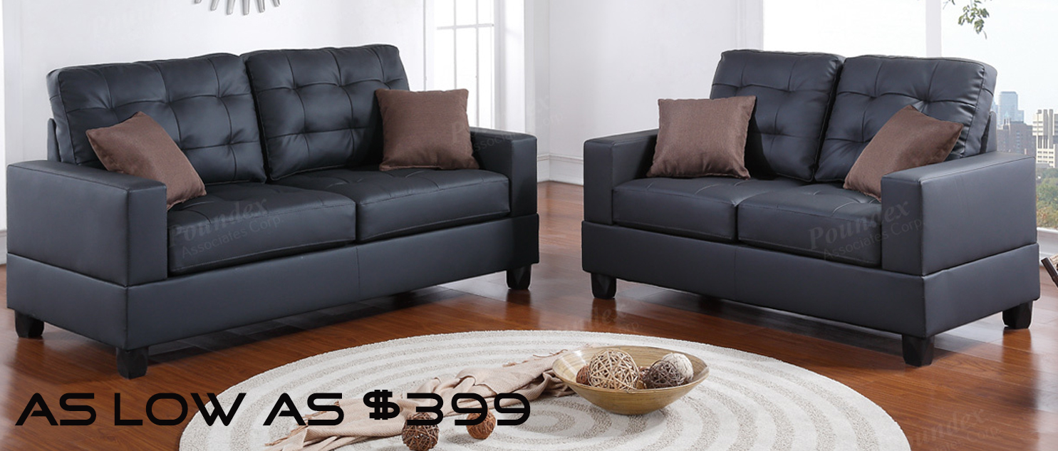 TopBanner $399 sofa loveseat