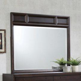 Bingham Retro-Modern Dresser Mirror