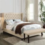 Upholstered Bed End Bench 4 Colors
