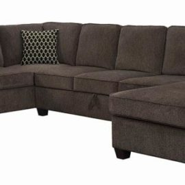 Provence Storage Sectional Brown