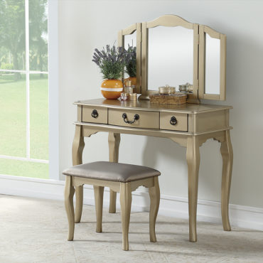 Classic 3 drawer vanity set