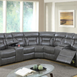 Motion Sectional 7pc in 2 Colors