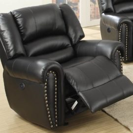 Classic II Black USB Power Motion Sofa
