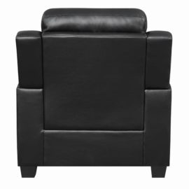 Finley Tufted Upholstered Chair Black