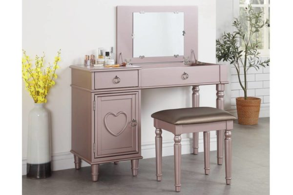Bedroom Storage Vanity Desk 4 Colors