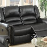 Classic II Black USB Power Motion loveseat
