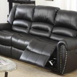 Classic II Black USB Power Motion Sofa