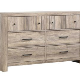 Adelaide 6-Drawer Dresser Rustic Oak