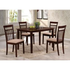 Espresso 5PC Counter-High Dining Set