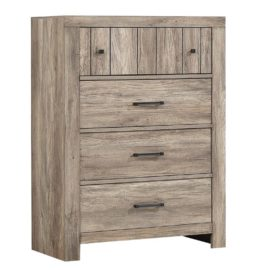 Adelaide 4-Drawer Chest Rustic Oak