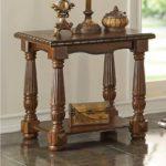Traditional Ash Burl Coffee Table