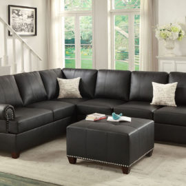 2pc sectional leather