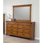 Brenner 8-Drawer Dresser Rustic Honey
