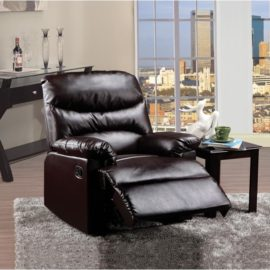 Arcadia Brown PU Recliner