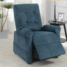 Power Lifter Recliner Blue