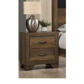 Krandall Nightstand Natural Wood Finish